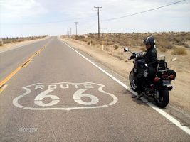 Route 66 vers Barstow